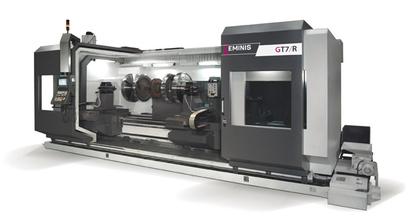 Goratu presenta el nuevo torno Geminis GT7/R en la BIEMH 2016 - Hall 1, stand D19 - F20