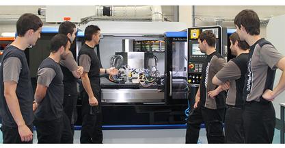 Escuela taller de montadores de DANOBATGROUP: del aula a la planta de fabricación avanzada