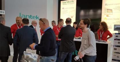 Lantek successfully concludes its participation in the most important metal fair in Italy