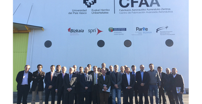 General assembly of the Business Grouping linked to the Aeronautics Advanced Manufacturing Centre (CFAA)