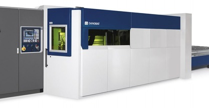 #BIEMH2014 - DANOBAT, IRIS LASER CUTTING MACHINE WITH 5 kW FIBER LASER