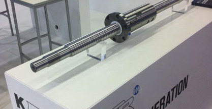 A new generation ballscrews KORTA at EMO Milano - Hall 11, stand H07