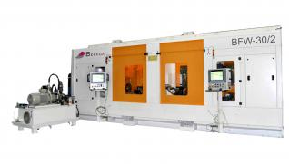 BERKOA BWF-30 Friction spin welding machine with two stations