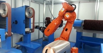 #EUROBLECH2014 - AUTOPULIT expondrá una célula robotizada para el rebarbado, lijado y pulido