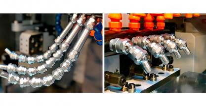 SCS presentará en la EMO 2019 su nueva gama de tubos flexibles para alta presión y tubos articulados
