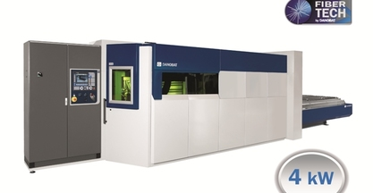 #EUROBLECH2014 - DANOBAT Fiber laser cutting machine, Model IRIS