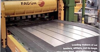 Fagor Arrasate obtiene la primera posición en el ranking de fabricantes de líneas de acabado y procesado de banda metálica de USA