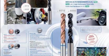 New IZAR drill bits of sintered metal powder