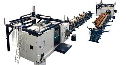 """Equipamiento DANOBAT en la nueva fábrica de tubos roscados para la empresa """"Tubos Reunidos"""""""