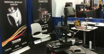 Innovalia Metrology presenta su sistema M3 portable en Detroit