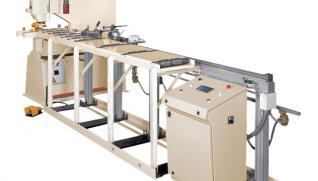 GEKA PAX, CNC feeder with positioning unit along X-axis