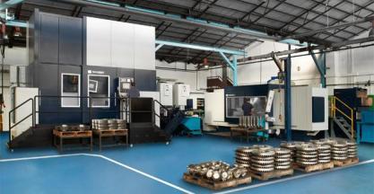 DANOBAT ha desarrollado dos rectificadoras personalizadas para mecanizar piezas de gran tamaño para la empresa Grupos Diferenciales