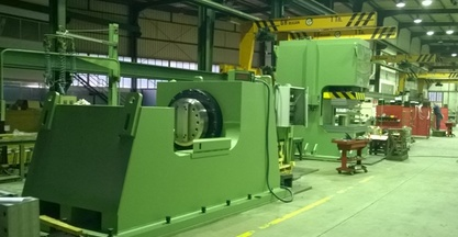 IBERMACH Special Machinery, a company belonging to the Erlo Group, delivers two hydraulic presses to Gestamp Brazil