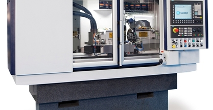 #BIEMH2014 - CONVENTIONAL AND SUPERABRASIVE GRINDING DEMONSTRATES DANOBAT LG-600'S FLEXIBILITY