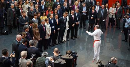 El lehendakari inaugura la mejor BIEMH de la década