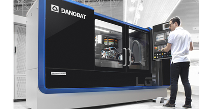 New DANOBAT LG- 1000 cylindrical grinding machine