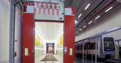 Geinsa realiza instalaciones para tratamiento y pintado de vagones de ferrocarril para Euskotren