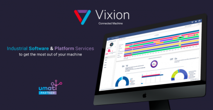 VIXION presents a new version of their UMATI technology at EMO 2019