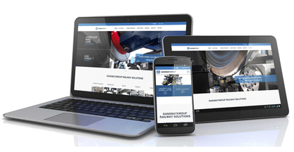 Danobatgroup launches a new website about solutions for the railway industry