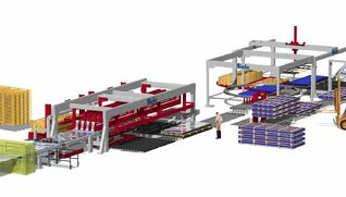 BIELE Stackers for sheet processing lines