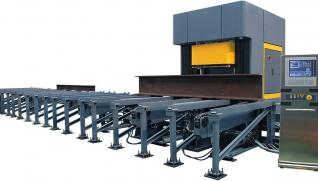 GEKA Sigma 110, CNC line for beams processing