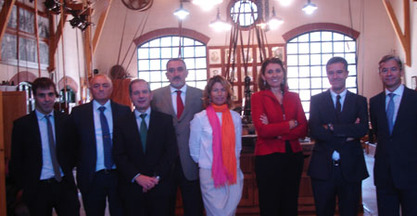 Visit by the Secretary General of Industry, Begoña Cristeto, to the machine tool sector.