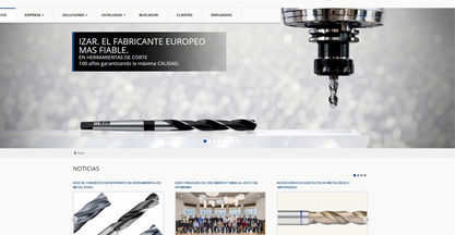 IZAR launches its new website