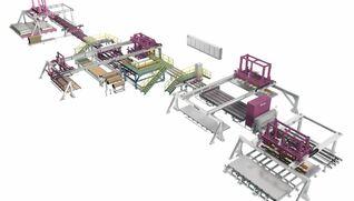 BIELE Handling & packaging line for metal sheets