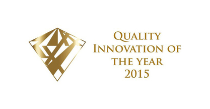 SORALUCE, ·Quality Innovation of the Year 2015·