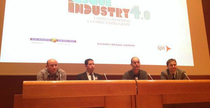 Lantex presents its Lantek Factory concept at Basque Industry 4.0