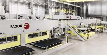 Fagor Arrasate installs Nineth (9th) Dual Servo Blanking Line for Daimler China