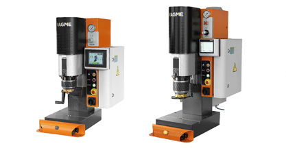 AGME presented its new radial riveting machines  and desktop presses in Germany and the Czech Republic
