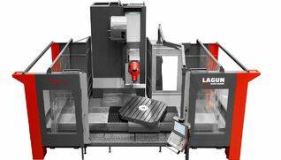 LAGUN TM - Fresadora de montante móvil transversal
