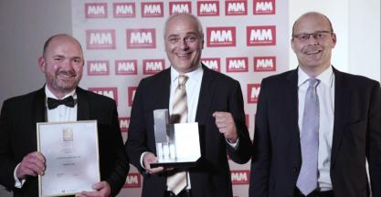 "Schaeffler's VarioSense Bearing Wins the ""Best of Industry"" Award"