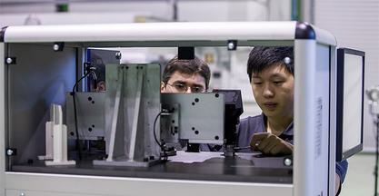 La empresa Cy-Time fabricará la máquina BEGItech ECD de Lazpiur para el mercado chino