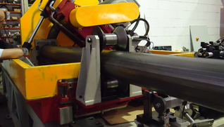DIMECO TUBE MANUFACTURING LINE FOR SOLAR TRACKERS DIMECO