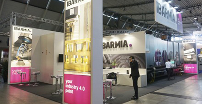 IBARMIA, excellent show at AMB Stuttgart