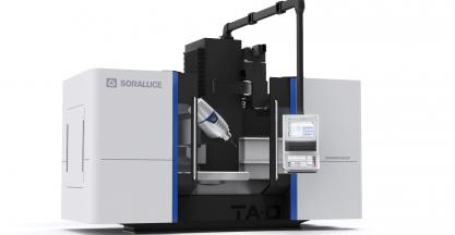 SORALUCE presentó en la EMAF el centro de 5 ejes continuos de SORALUCE TA-D 20