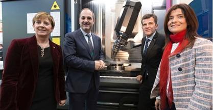 IBARMIA, la UPV/EHU y TECNALIA presentan la mayor máquina de impresión 3D para la Industria