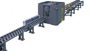 GEKA Gamma Traction 250 linea CNC especializada en el punzonado, taladrado, marcado y corte de angulares