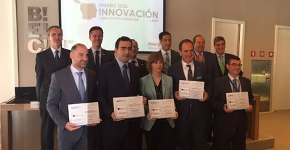 Ibarmia, Danobatgroup and Mizar, winners of the award to innovation in advanced manufacturing