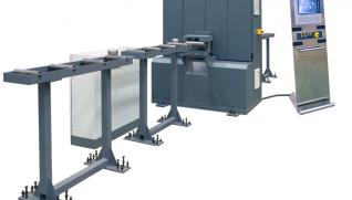 GEKA Alfa 150, specially designed CNC line for flat bars from 1´´