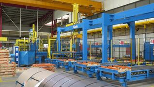 BIELE Coil stacking, handling and packaging line