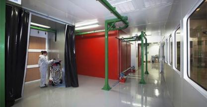 Línea completa de pintura y líquidos penetrantes de Geinsa para Innomat Coatings