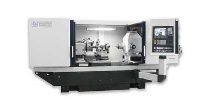 High-precision DANOBAT-OVERBECK grinding machine for machining spindles and tool holders