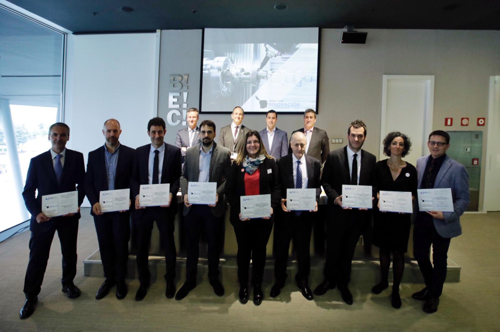 ZAYER, CORREA, ADDILAN y SAVVY, ganadores de los premios a la innovación en fabricación avanzada y digital 2018