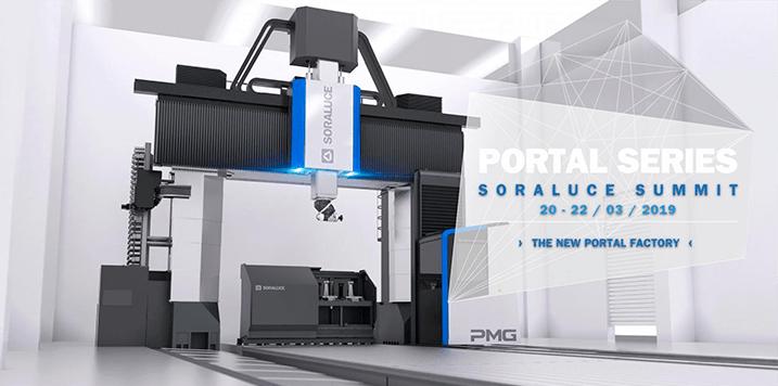 SORALUCE presentará la nueva gama de máquinas portico durante el SORALUCE SUMMIT 2019 | PORTAL SERIES