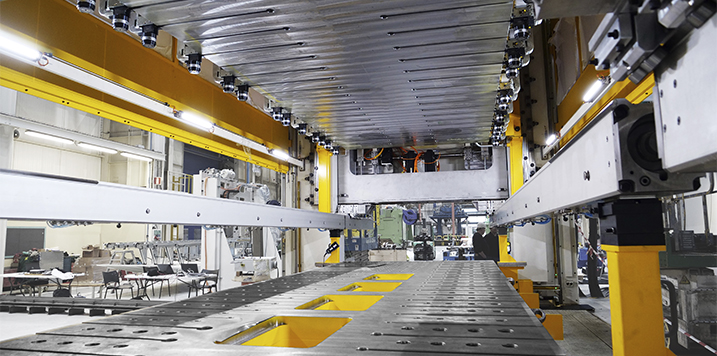 FAGOR ARRASATE se consolida como referente en grandes prensas con una servo transfer de 30.000 kN para TPV