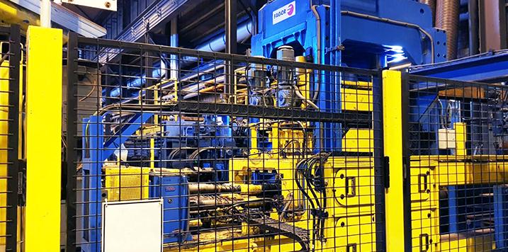 FAGOR ARRASATE suministra a SSAB una línea de corte longitudinal para los aceros más resistentes