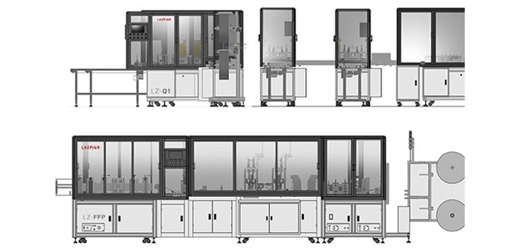 LAZPIUR presenta sus nuevas líneas de producción de alta velocidad para la fabricación de mascarillas quirúrgicas y FFP2/FFP3.